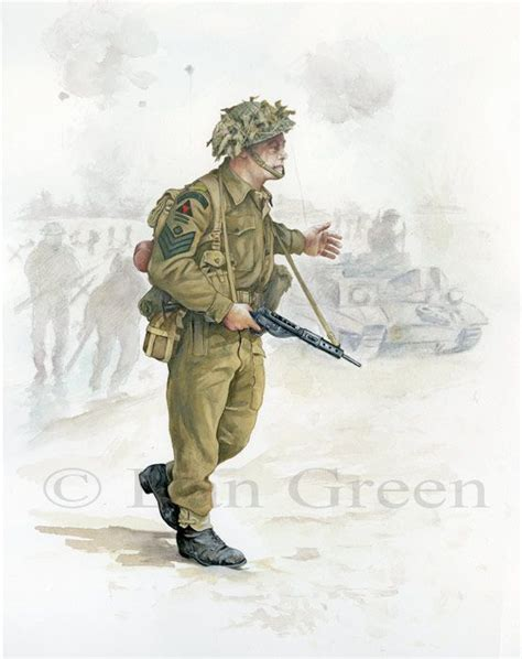 BRITISH ARMY - Sergeant, 2/Royal Ulster Rifles, D-Day 1944